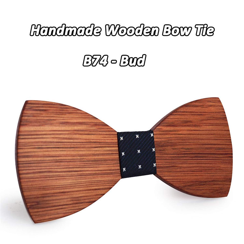 Black HuntGold 1X Fashion British Style Adjustable Men Formal Cravat Bowtie Tie Necktie
