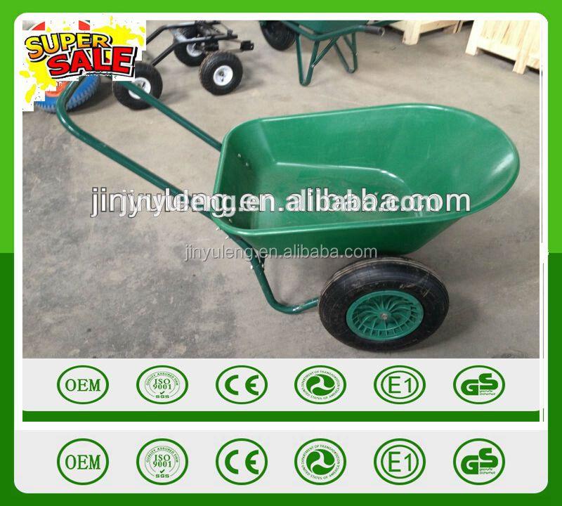 Prower carga grande de dos ruedas carretilla bandeja de - Carretillas manuales precios ...