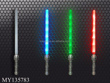 3 color mixed toy lightsaber with light and music