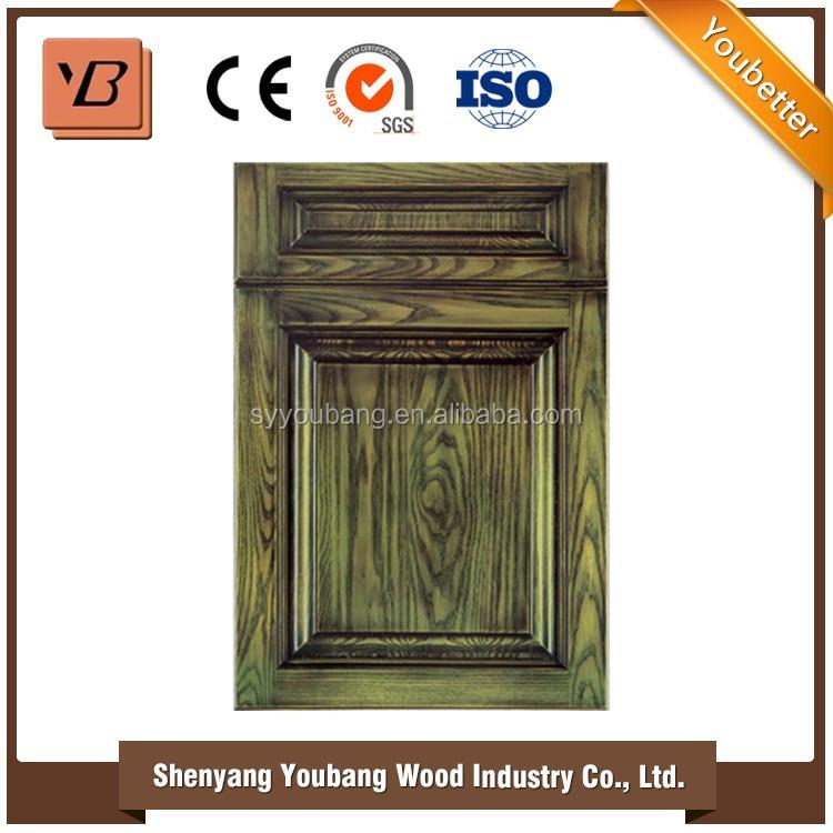 Canadian Standard Frame Solid Wood Kitchen Cabinet Door