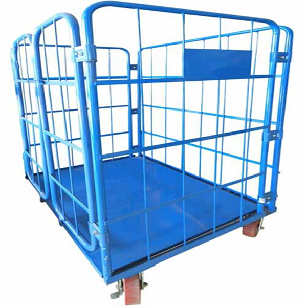 Logistics Equipment,Metal Rolling Storage Security Cage