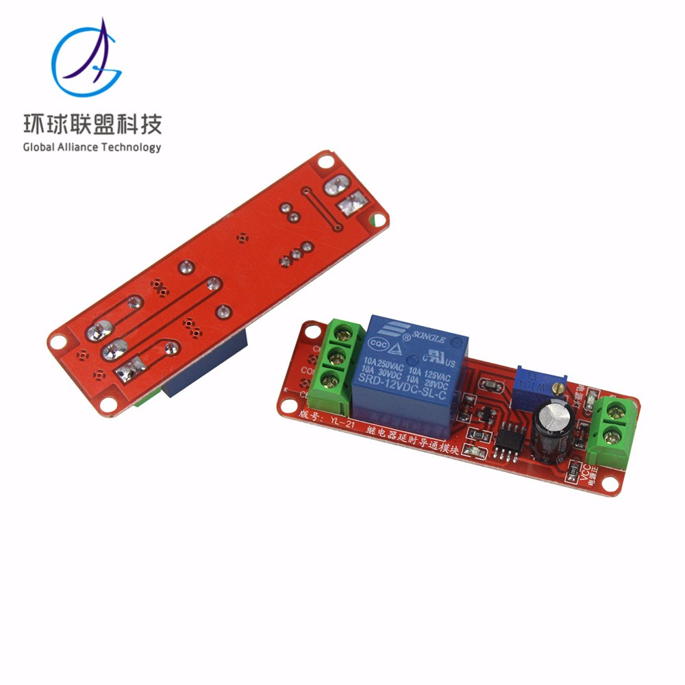 Ne555 Timer Switch Adjustable Module Time Delay Relay Dc 12v 555 Circuit Detailed Images