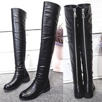 Wholesale 2016 new arrival genuine leather market ladies boots ...