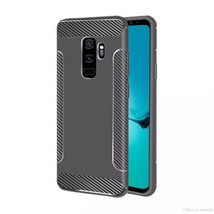 Carbon FiberWing Soft TPU Case For Galaxy Note 9 S9 (J8 J3 J7 Duo A6 J6 J4 A8 J2 Pro)2018 Luxury Vertical Shockproof Gel Cell P
