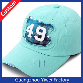 Guangzhou Baseball Caps Factory Wholesale Cotton Baseball Caps