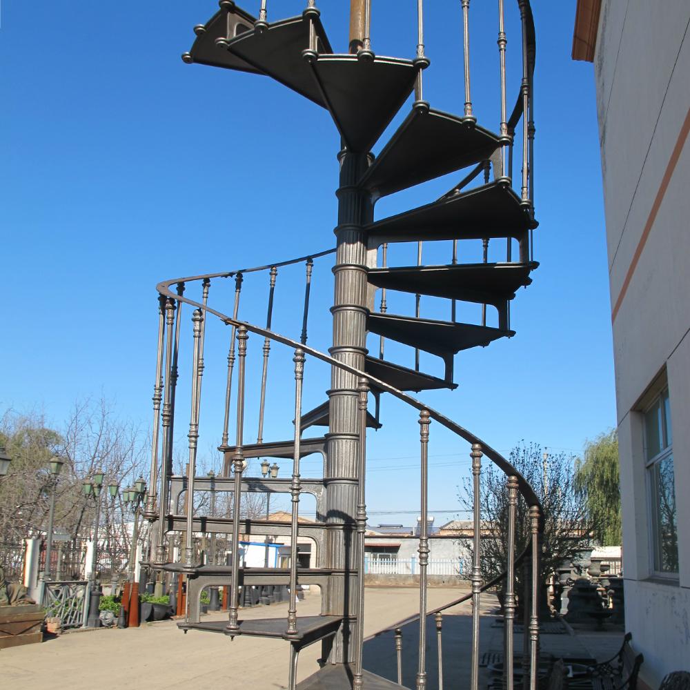 Outdoor Circular Staircase, Outdoor Circular Staircase Suppliers And  Manufacturers At Alibaba.com