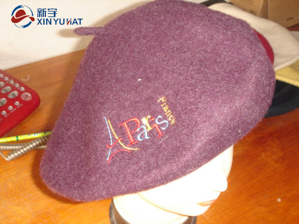 fashion winter lady lovely wool beret hat