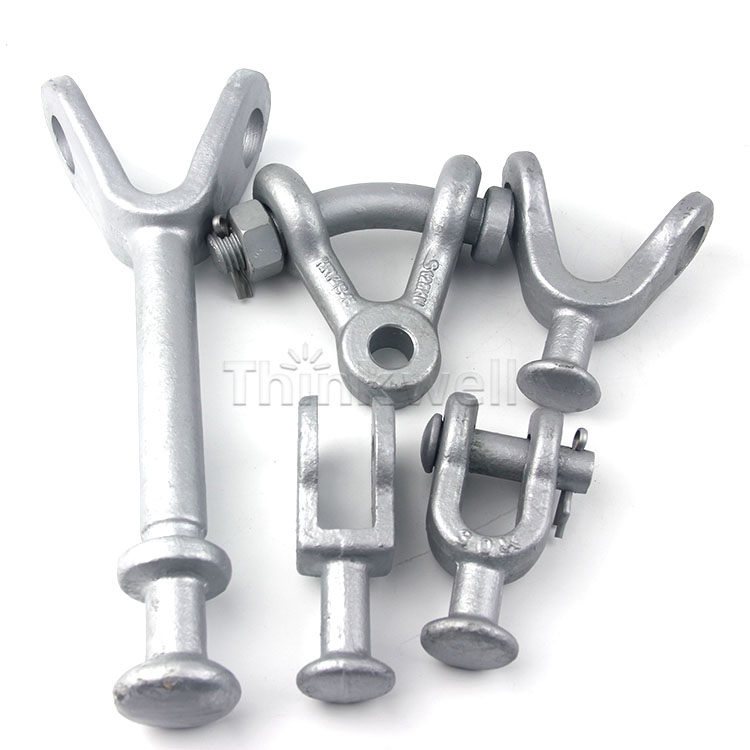 High Quality Forged Y Ball Clevis Electric Power Hardware