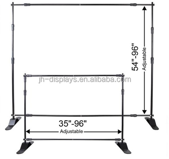 Wholesale Cheap 8ft Aluminum Telescopic Jumbo backdrop <strong>stand</strong>