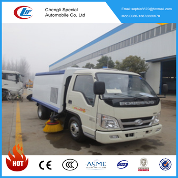 Factory Best selling 4*2 Foton 4 tons road sweeper vehicle for sale