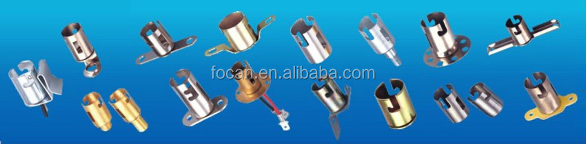 Factory direct sale ba15d bulb holder