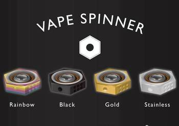 2017 Summer Hottest in the market Small size vape spinner hand spinner vaping spinner