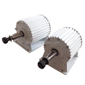 low RPM A grade AC 5kw100Rpm 200rpm 300rpm low RPM permanent magnet alternator generator