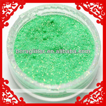 waterdichte glitter tattoo stencil~green
