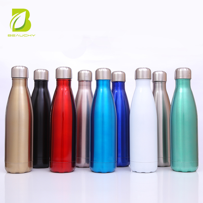 Metal Material and Eco-Friendly Feature stainless steel customised water <strong>bottle</strong>
