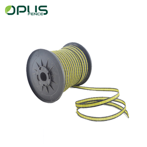 UV 40mm width SS wires electrical plastic electric fence tape for garden fencing