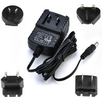 C -Tick SAA UL CE FCC listed 5v 12v 16v 1a 2a 3a Wall Mount interchangeable Plug Shaver Switching ac/dc Power Adapter