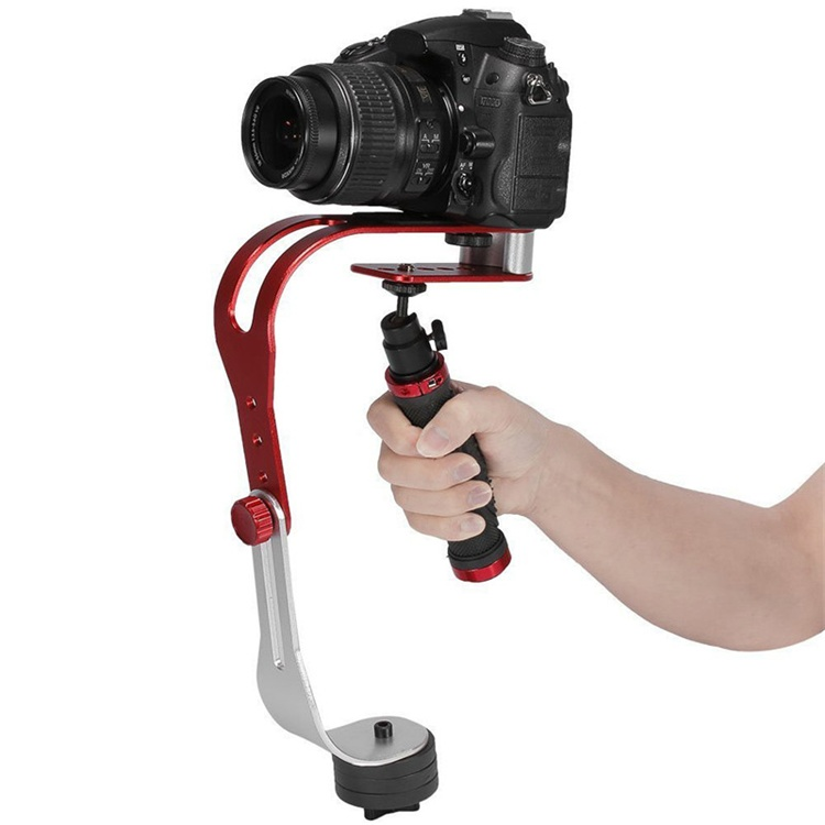 New LOVEFOTO Handheld Camera Stabilizer Rubber Handle Max Load 0.95kg Motion Steadicam/Steadycam For Camcorder DSLR DV Wholesale
