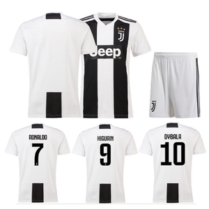 huge selection of 29ae4 4a568 (Factory Price)2018-2019 Season Famous Soccer Star Cristiano Ronaldo  Juventus Football Jersey Soccer Jersey