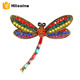 Cheap Wholesale Butterfly Dragonfly Insect Safety Pin Brooch