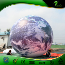 Custom Advertising Promotional Inflatable Earth Balloon, PVC Planet Balloon