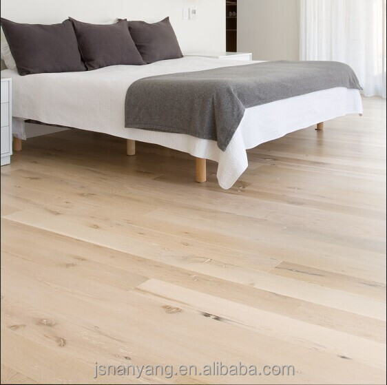 Natural flooring oak UV oiled engineered wood flooring for indoor usage