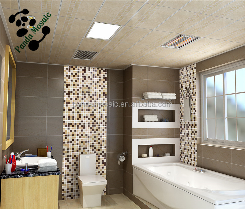 3d dekoration mosaikfliesen aus glas fliesen metallic glas. Black Bedroom Furniture Sets. Home Design Ideas