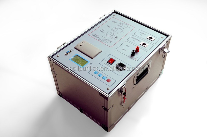 Automatic 10KV Capacitance Dissipation Factor Testing Machine for Power Plants or Power Substations