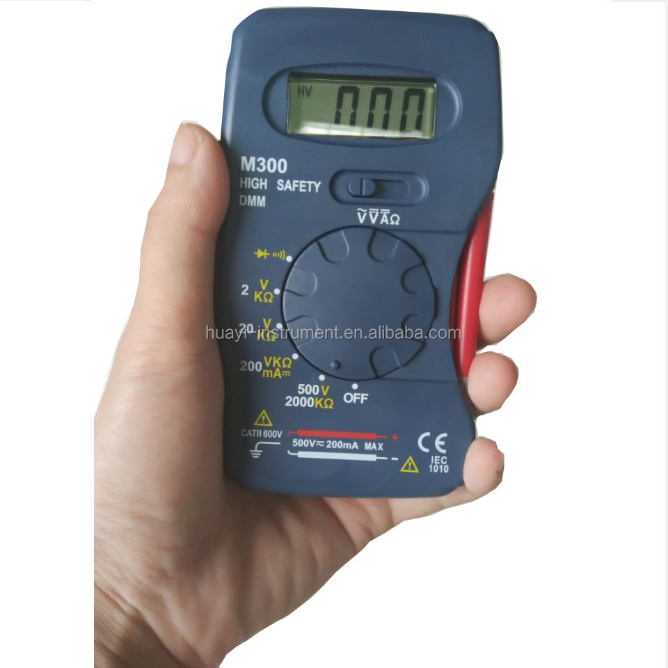Pocket Mini Dmm Low Price Digital Multimeter Manual M300