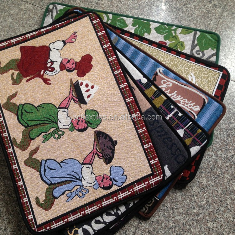 Alibaba supplier Classical Tapestry Door Mat For Kitchen