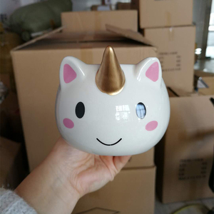Cartoon Unicorn Mug 3D Ceramic Coffee Cup Drinkware Mug Cup