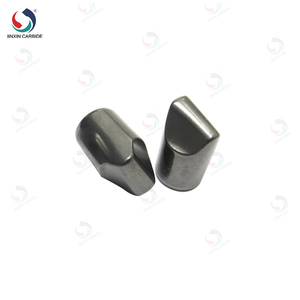 HIP sintered shining cemented tungsten carbide buttons with customized sizes