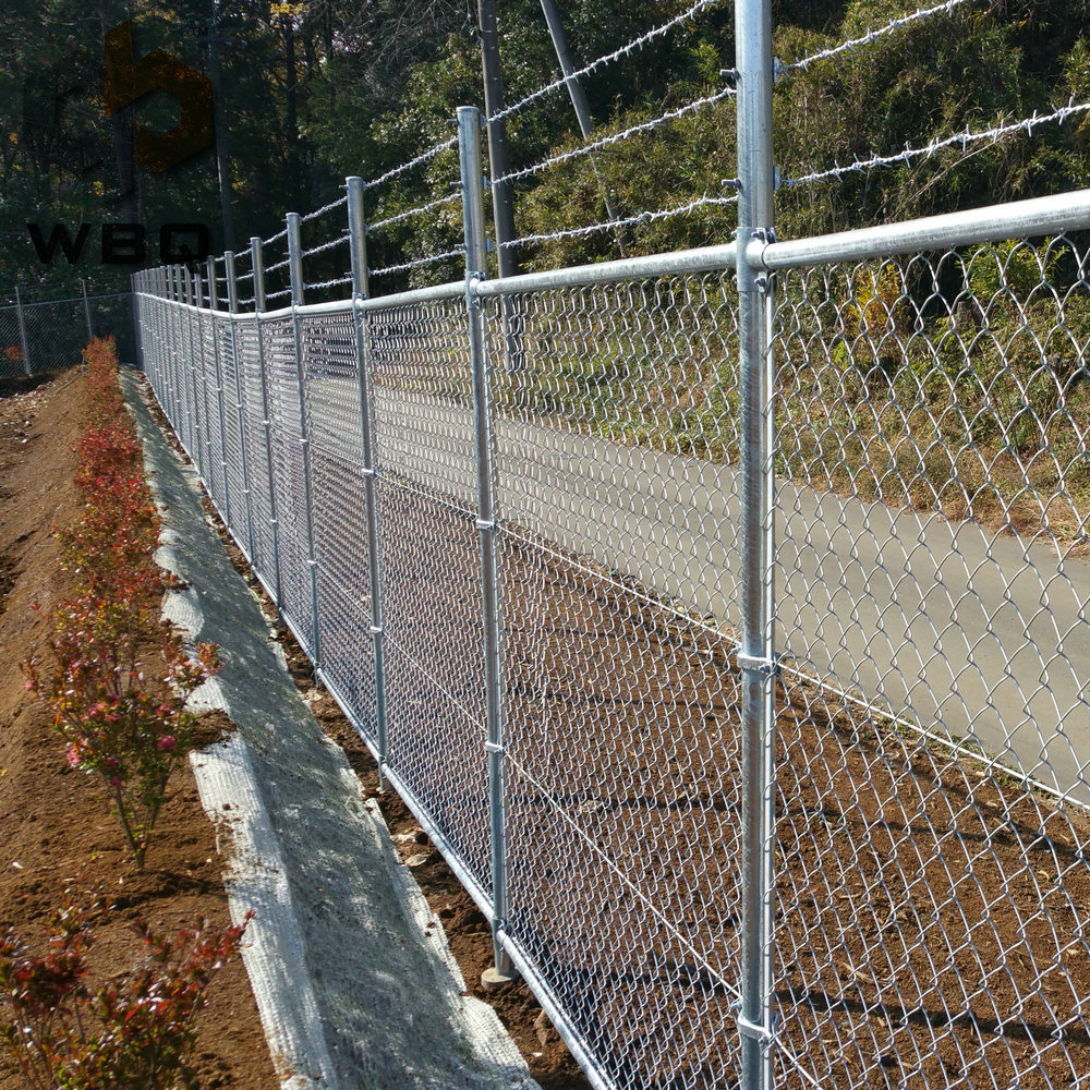 Chain Link Fence With Ground Screw Anchor Buy Chain Link
