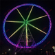 Outdoor entertainment rides 50 M giant ferris wheel for sale