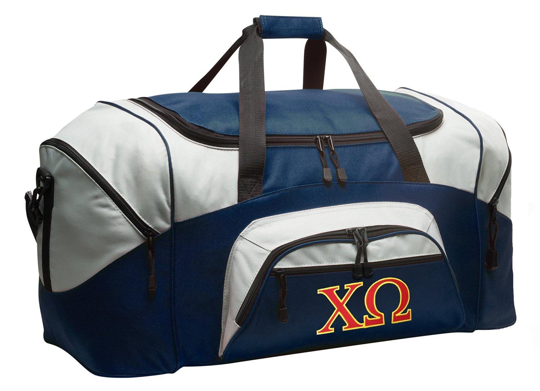 Chi Omega Duffel Bag Chi O Gym Bags or Luggage