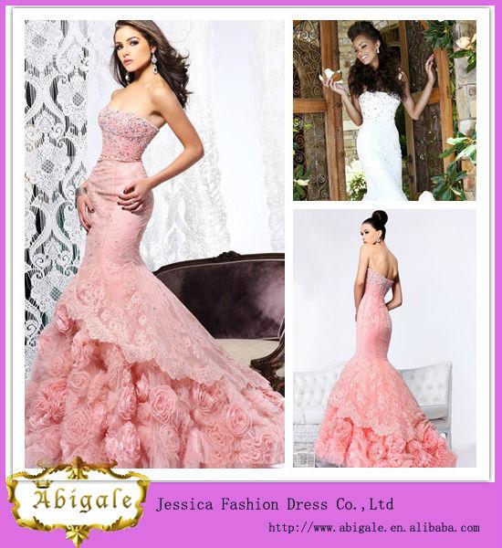 Venta al por mayor vestidos de novia sirena strapless-Compre online ...