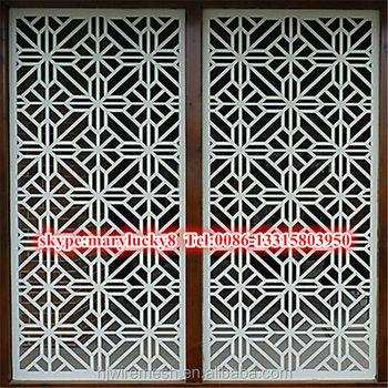 metal perforated champagne meshsto decor sheet sheets pattern decorative