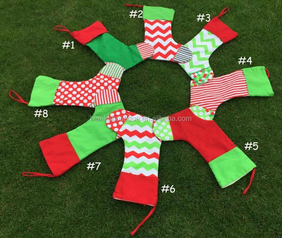 monogrammed christmas decor stockings - Monogrammed Christmas Stockings