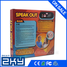 Speak Out game Mouth Guard Family Board Game Production Children Game Equipment