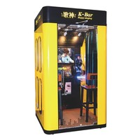 Jukebox Mini Karaoke Player Singing Booth Machine With Songs Coin Operated Electronic Chinese K-Bar KTV Kiosks