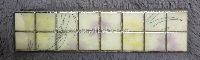 new design antique ceramic tile rustic tiles has golden edge