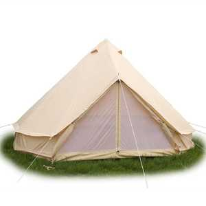 Outdoor Camping Equipment 4 Person Family Cabin House Tents