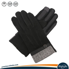 Man'S Cashmere Knit Scarf Glove And Hat Set