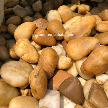 Red River Pebbles Landscaping Crystal Pebble Fish Aquarium White Marble Gravel Stone