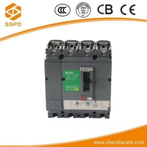 4P fixed air circuit breaker dc mcb