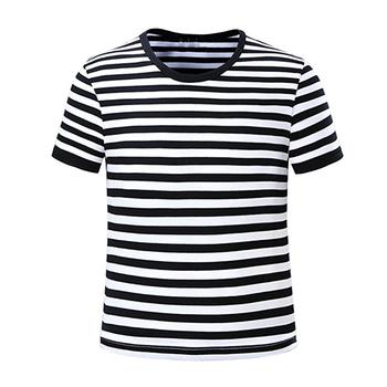 dbcfe9d68f A Granel Crianças T Camisa Listrada Branca E Preta - Buy A Granel ...