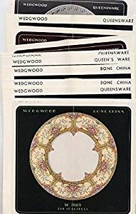 1930's Josiah Wedgwood History Booklet & 13 China Product Flyers