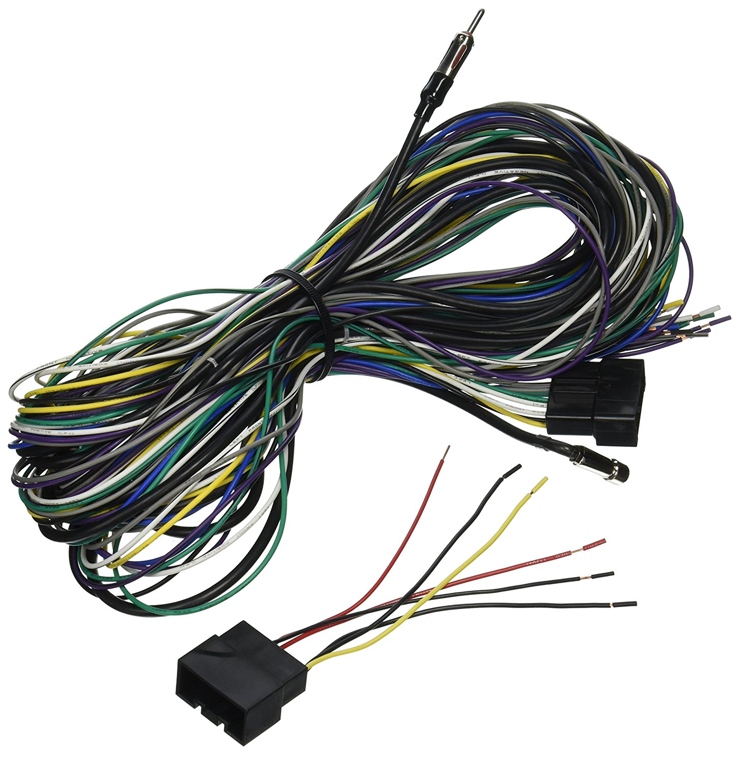 Get Quotations · Scosche Radio Wiring Harness for 1998-Up Ford  Taurus/Mecury Sable Power, Speaker