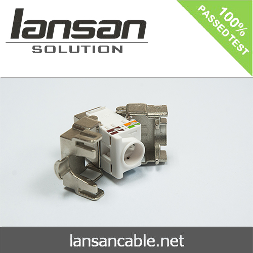 LANSAN High quality 90 degree keystone jack
