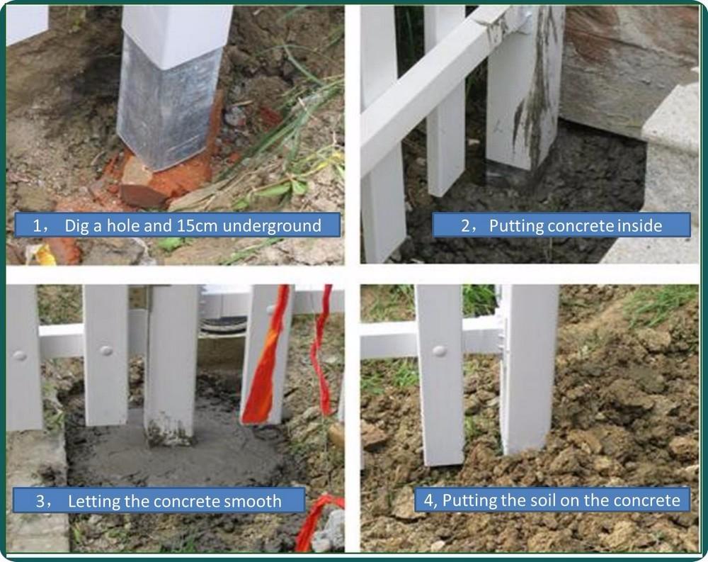 Petite Cloture De Jardin Blanche clôture blanche bon marché de piquet de vinyle de pvc/panneaux blancs de  barrière d'intimité de vinyle/clôtures en plastique de jardin de pvc - buy